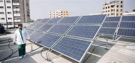 solar energy unit empowergaza renewable energy islamic relief canada
