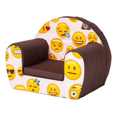childs foam armchair emoji girl kids foam armchair soft seating chair seat