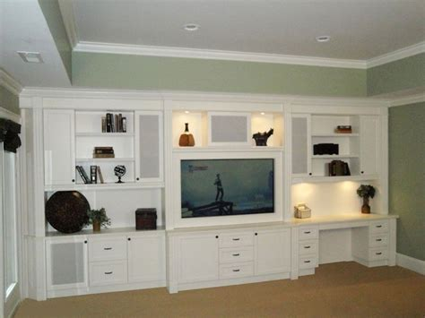 Entertainment Center Desk Combo Home