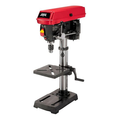 Skil 10 in. Portable Drill Press with Built In Laser 3320