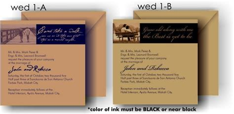 Wedding Invitation Design Price Philippines by Accomplishments As Of April 2006 Chronicles Of A Pasawife
