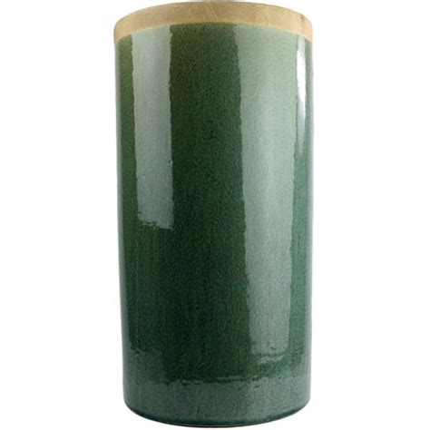 Large Teal Floor Vase Merlin Large Cylinder Vase Teal Froy