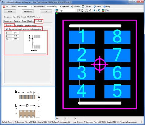 chip resistor array footprint chip resistor array footprint 28 images surface mount resistors dimensions crafts selecting