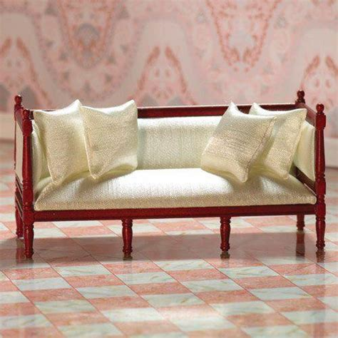 silk sofa music the dolls house emporium cream silk louis xvi sofa