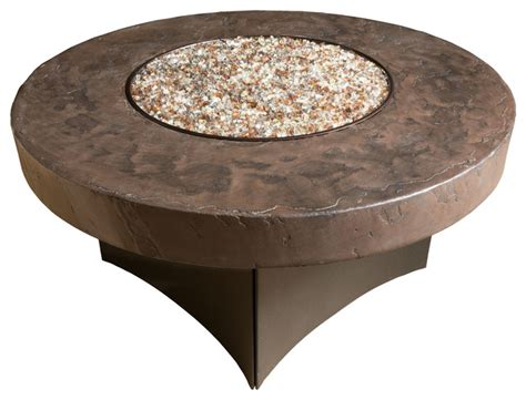 oriflamme gas pit table tuscan savanna savanna 48