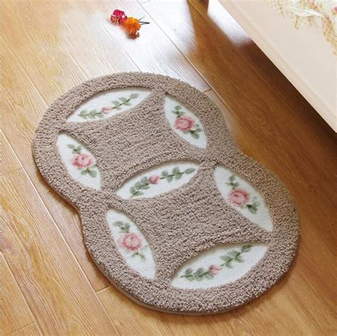 Oval Kitchen Rugs New Home Rugs Carpet Kitchen Mat Door Oval Acrylic Mats Non Slip Rug Bedroom Carpet Cheap Rugs