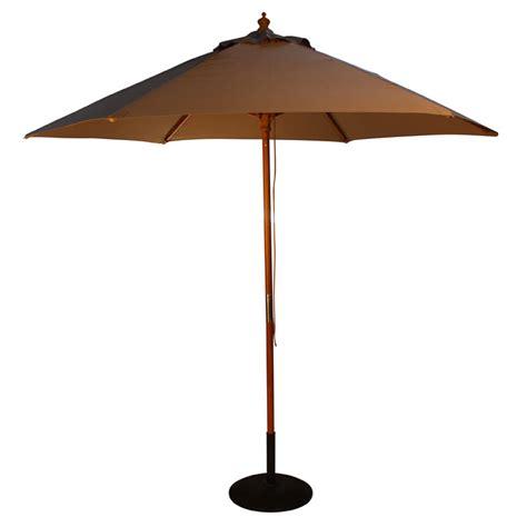 Parasol Umbrella Wood Pulley 2.5m, 9 colours   Umbrella Heaven