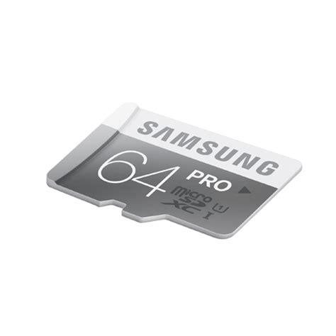 Memory Samsung Pro 64 Gb 10 Uhs I 90mb S Class 10 Pro Micro Sdhc Card samsung microsdxc pro uhs i class 10 90mb s with sdxc adapter 64gb mb mg64da
