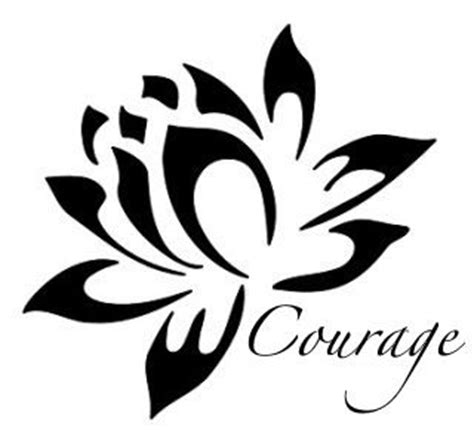 lotus tattoo     perseverance   courage tattoos pinterest white