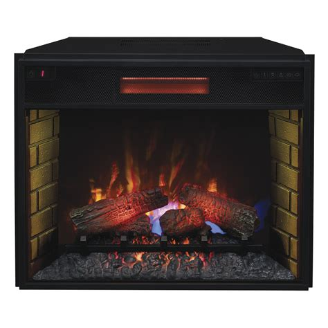 classic fireplace insert classic 28 quot 28ii300gra infrared electric fireplace