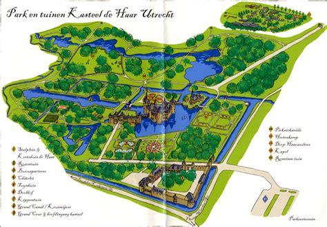 netherlands castles map kasteel de haar a castle near utrecht albatz