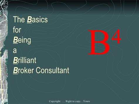 How Do I Become A Stockbroker by How To Be A Great Broker Consultant