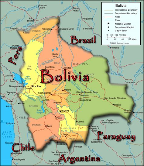 map of bolivia bolivia hotels