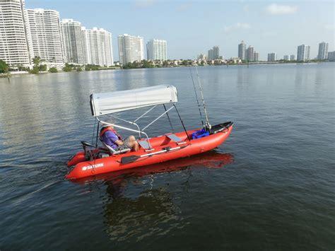 inflatable boat gas motor 2 bow sun shade canopy bimini top for boat kayak canoe