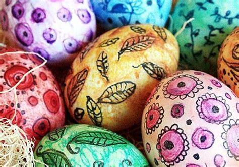 decorare oua paste copii 9 idei pentru decorarea oualor de pasti oua pictate
