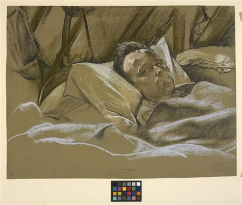 man in hospital bed file a wounded man in a hospital bed art iwmart5053 jpg wikimedia commons