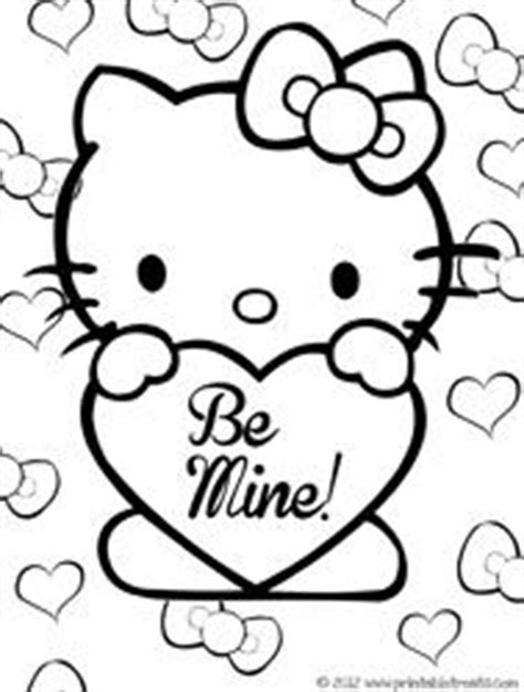 hello kitty coloring pages valentines day happy birthday coloring pages with balloons for kids