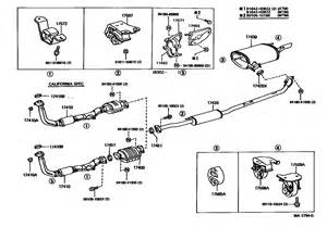Exhaust System Diagram Toyota Camry 7 Best Images Of 2006 Toyota Tundra Engine Diagram 2009