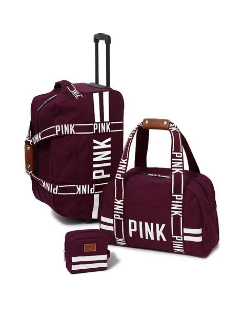 Traveling Shoes Maroon 3 travel set pink s secret from vs pink