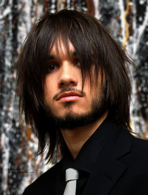razor hair cut for men sizes long layered and razor cut mens hairstyle