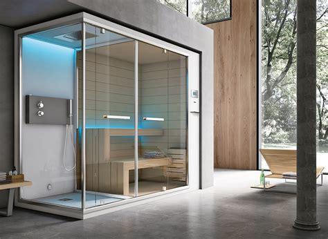 cabina doccia con sauna e bagno turco non sauna e bagno turco il benessere secondo hafro