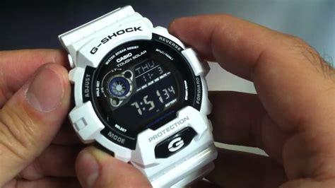 G Shock Gw 1135 Black White white casio g shock tough solar gr8900a 7
