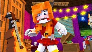 scrap baby turns human?! (minecraft daycare roleplay