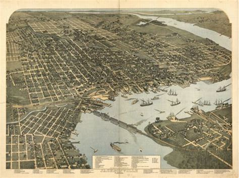 historical map of jacksonville fl 1893