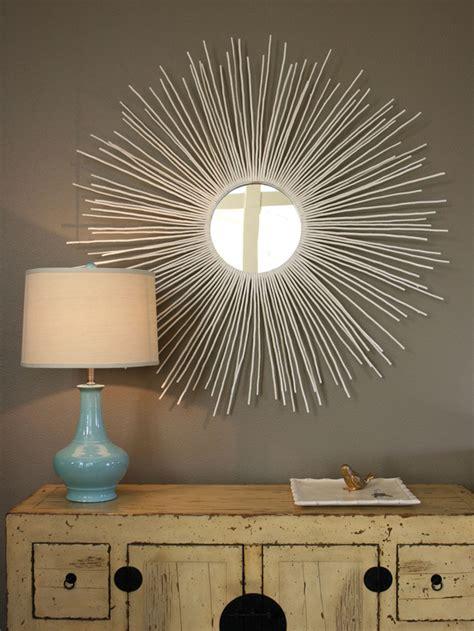 mirror ideas diy home decor stylish sunburst mirror diy crafts mom