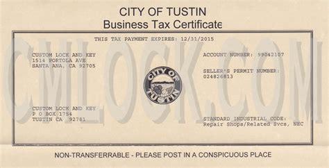 Garden Grove Ca Business License Custom Lock And Key Tustin Locksmith Licenses