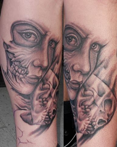jeffs tattoo low lock studio meyers jeffs leg in progress