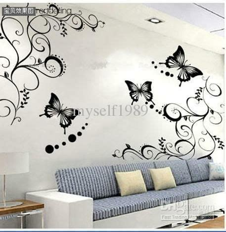 Sticker Writing For Walls 30 best images about new living room ideas butterflies on