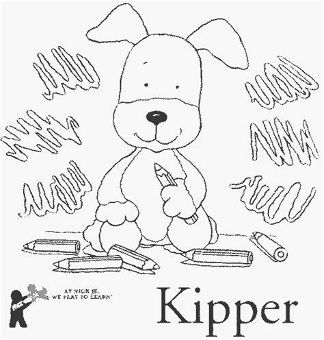 kipper free printable kipper coloring pages