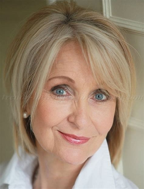 pinterest medium hairstyles for women over 50 short blonde bob hairstyle hairstyles for women over 50