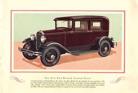 ford brochures directory index ford 1930 ford 1930 ford brochure 01