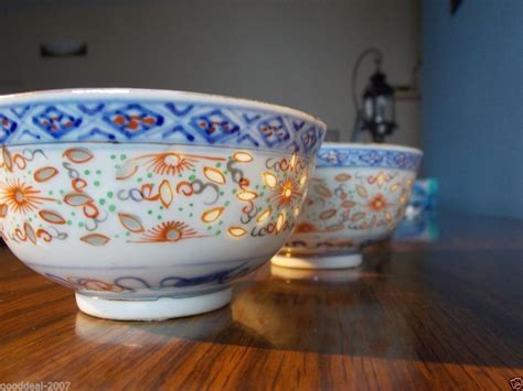 white pattern bowling 628 antique chinese porcelain rice grain pattern bowl