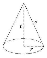 Cone Kerucut Solid cynthia s math