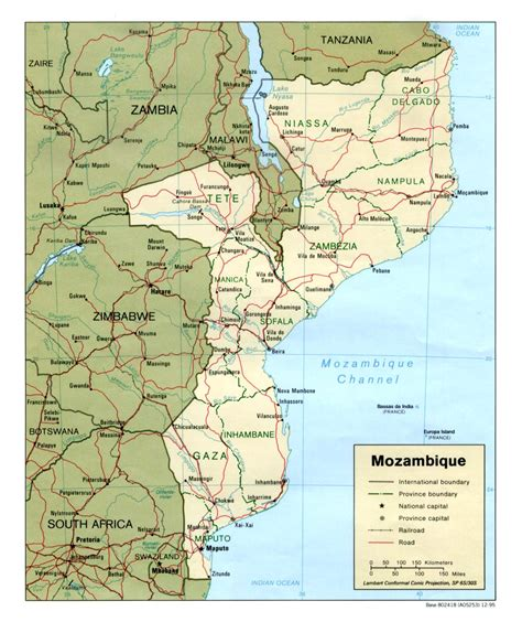 africa map mozambique mozambique maps perry casta 241 eda map collection ut