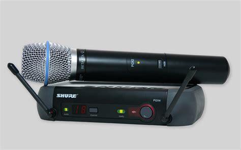 Microphone Wireless Shure Slx 282 mic wireless vokal shure pgx24 beta 87a