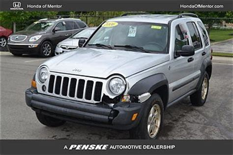 2006 Jeep Liberty Parts Purchase Used 2006 Jeep Liberty Sport As Is Parts Only 3 7