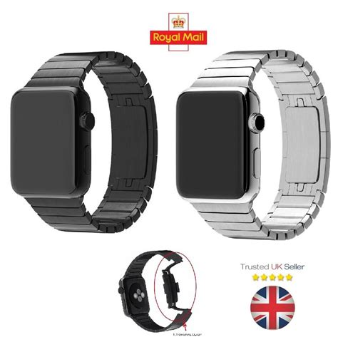 New Apple Stainless 3 Link I Wacth Series 1 2 3 2 stainless steel band link bracelet for apple iwatch 42mm ebay