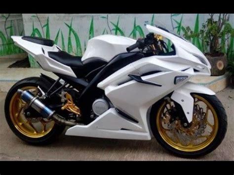 Part Modifikasi Motor by Modifikasi Motor Yamaha Vixion Fairing Keren