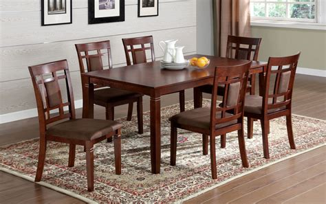 Cherry Wood Dining Table And Chairs Interesting Cherry Wood Dining Table And Chairs For Small Glass On Small Cherry Kitchen Table