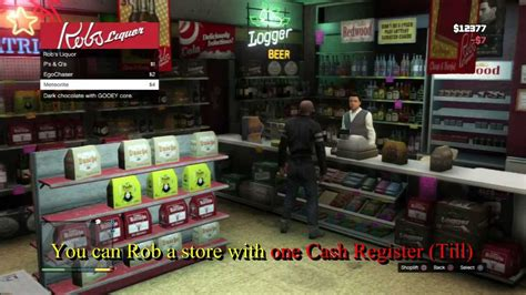 How To Make Money On Grand Theft Auto 5 Online - grand theft auto 5 how to make more money robbing cash registers youtube