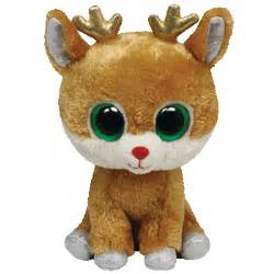 ty beanie boos collection apline reindeer tag ebay