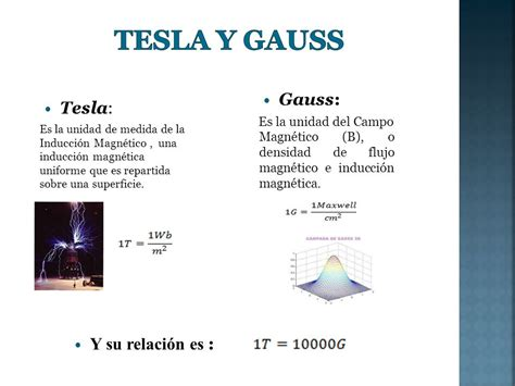 Conversion Gauss To Tesla 1000 Gauss To Tesla Tesla Image