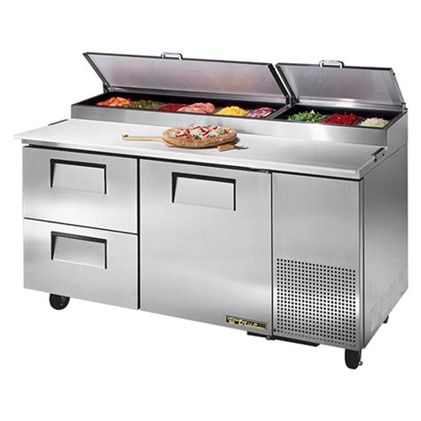 pizza prep bench true tpp 67 d2 true pizza prep table 2 drawers 1 door