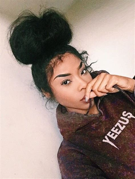 pics of black pretty big hair buns with added hair 17 best images about da messy curly bun on pinterest top