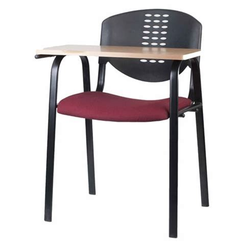 Bobby study chair writing pad chairs student writing chairs