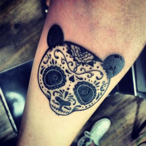 my sugar skull panda tattoo tattoos pinterest panda